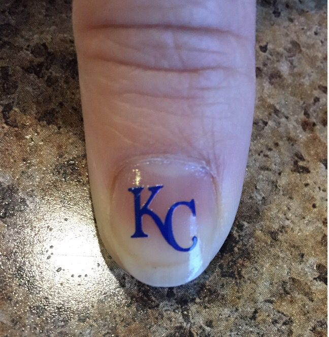 KC nail decal | My silhouette projects | Pinterest | Nail decals and ...