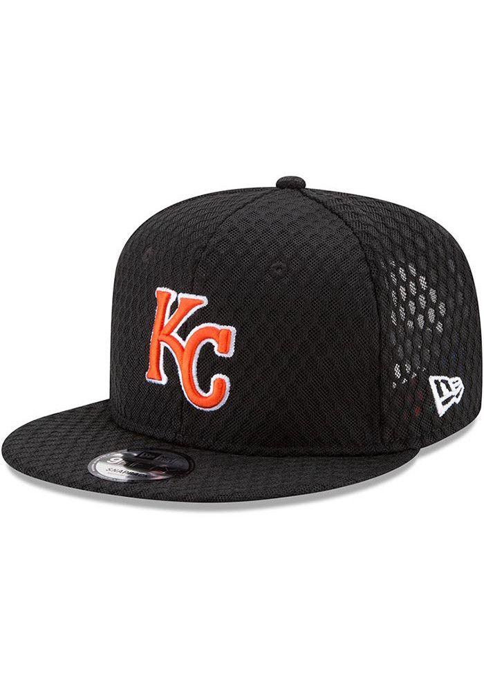 7ff79b26496 New Era Kansas City Royals Black Home Run Derby 2017 Mens Snapback Hat -  5905532