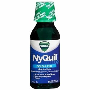 Can You Get Addicted To Nyquil Pin On When You Have The Flu Or A Cold