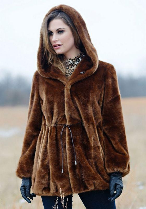 faux fur coat with hood - Google Search | Faux Fur | Pinterest ...