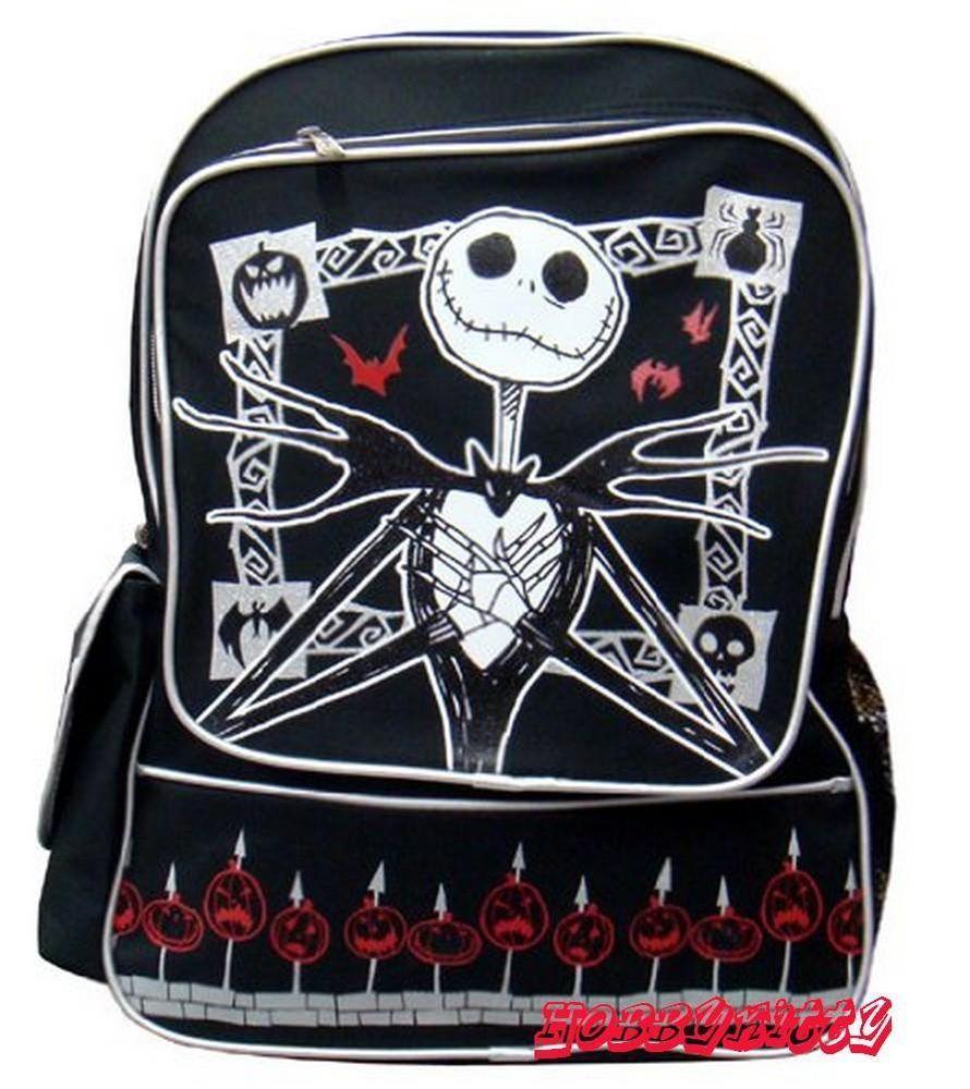 Walt Disney Nightmare Before Christmas Large Backpack