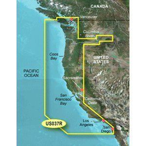 Garmin Bluechart G2 - VUS037R - Vancouver - San Diego