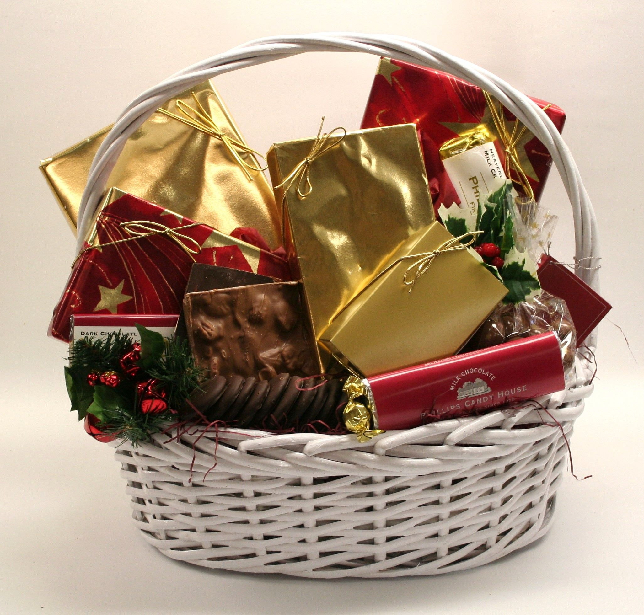 Chocolate Indulgence: Chocolate lovers rejoice. Our grand basket ...