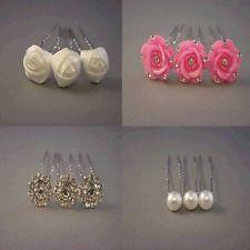 wedding hair white roses - Google zoeken