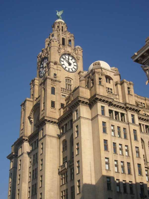 The famous Liver Building - proud to say I was an employee here for 11 years.