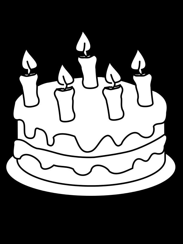 Draw This Birthday Cake Svg Boyama Sayfalari Instagram
