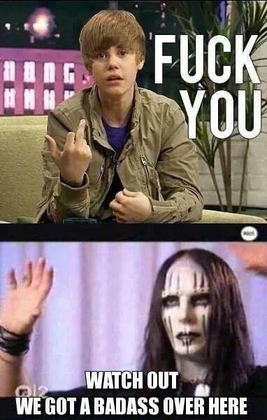 Hahahahaha So True Justin Bieber Is A Joke Heavy Metal Music Humor Jokes