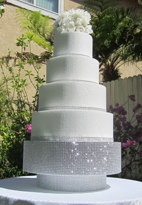 16 Round/Square Wedding Cake Stand Pedestal By ClassyCakeStands