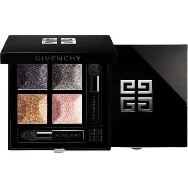 Givenchy Beauty Women's Le Prisme Quatuor Eyeshadow Quad (£48) ❤ liked on Polyvore featuring beauty products, makeup, eye makeup, eyeshadow, dark grey, givenchy, givenchy eyeshadow, givenchy eye shadow and creamy eyeshadow