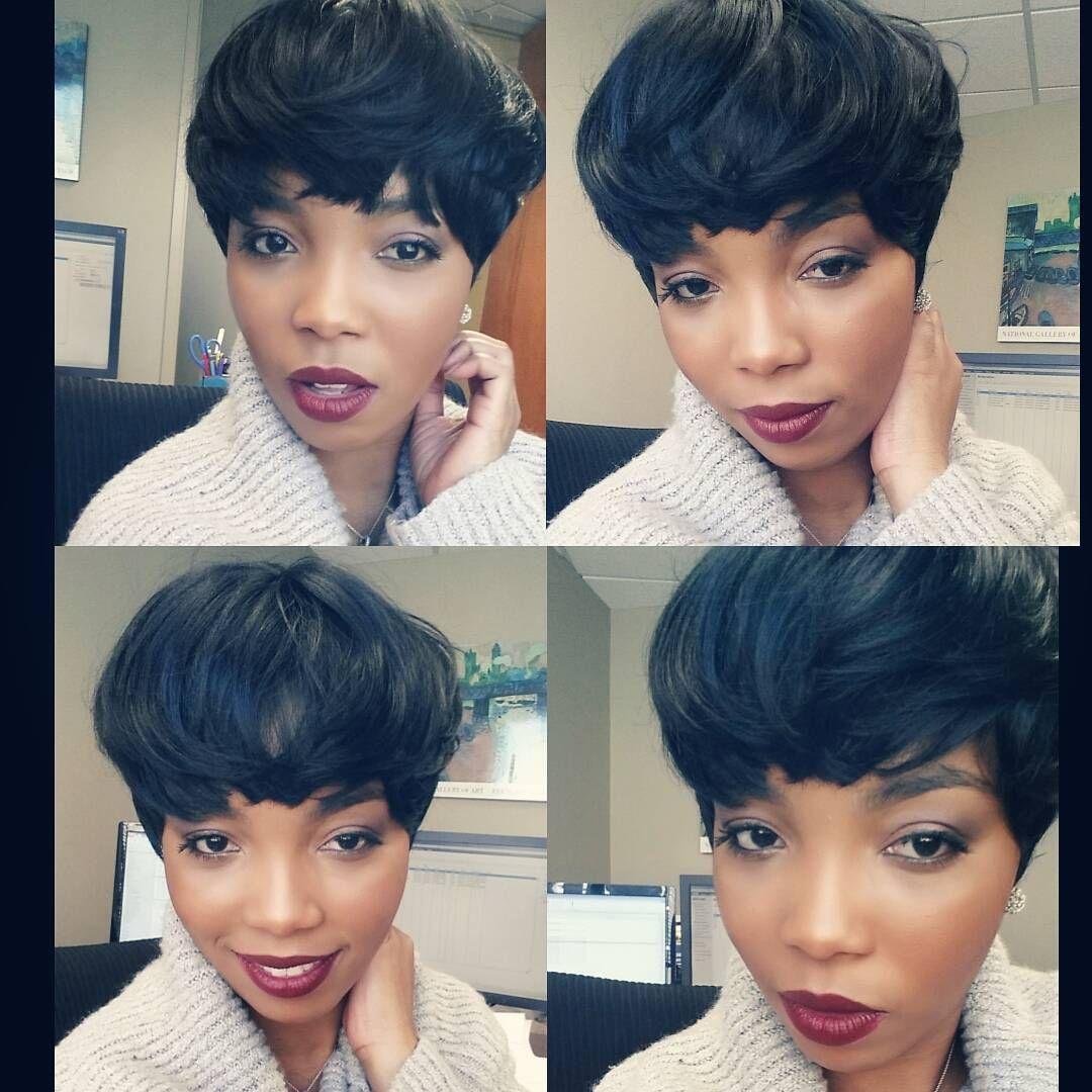 pixie perfection || @dvine_ensemble || @outre_hair quick