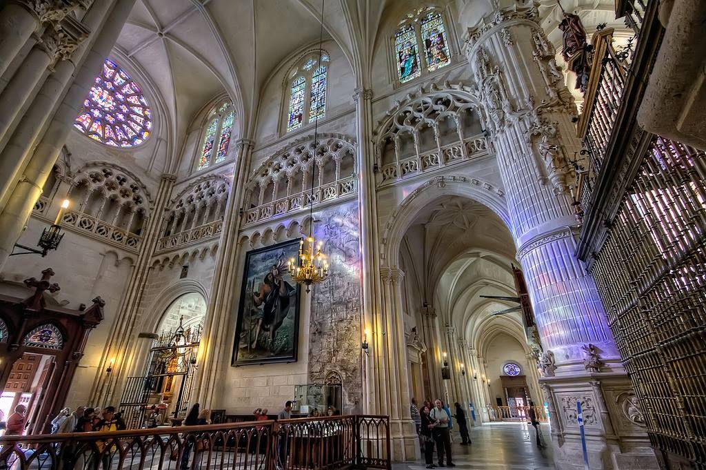 Resultado de imagen para catedral burgos interior