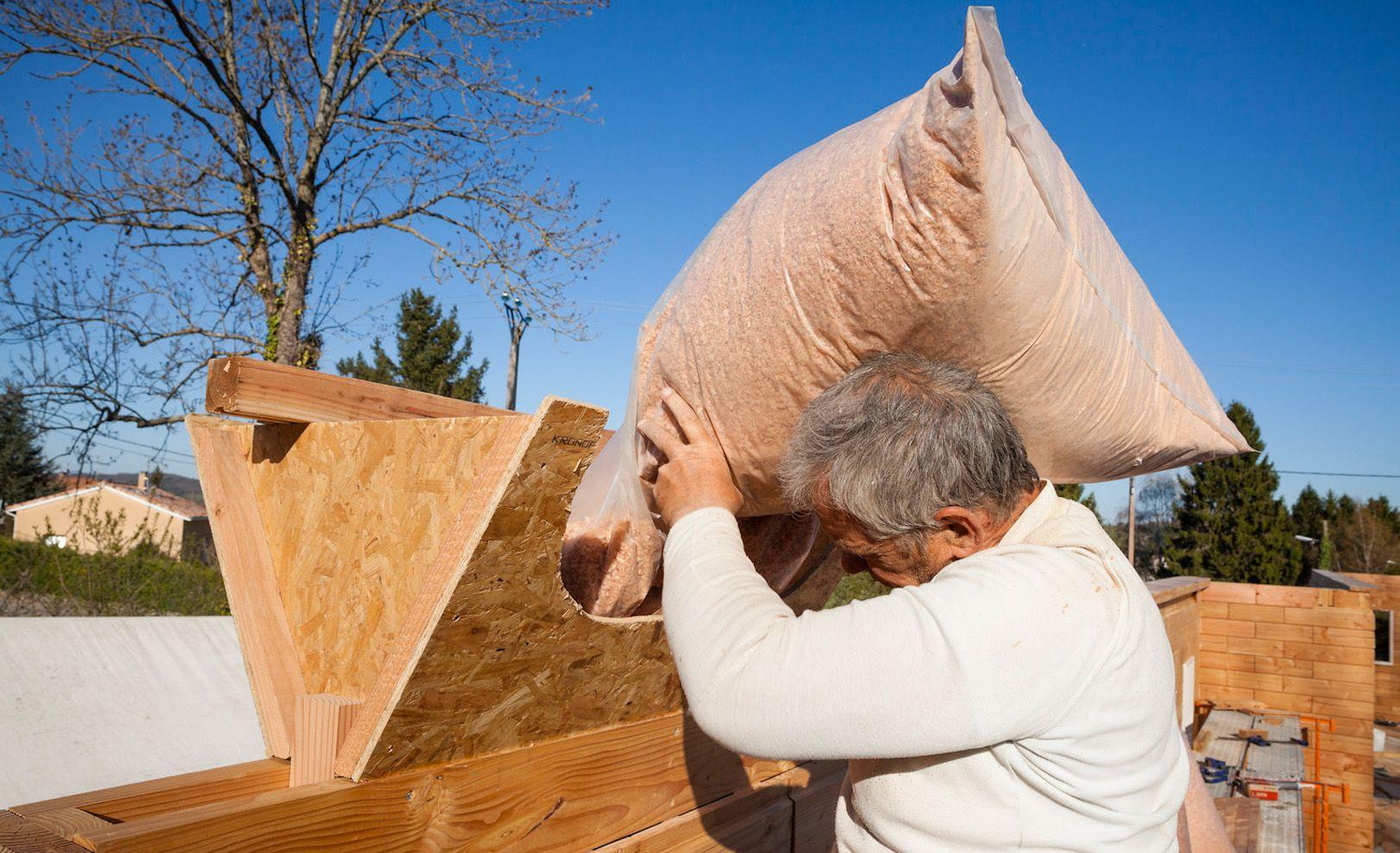 maison passive brikawood la brique en bois qui se. Black Bedroom Furniture Sets. Home Design Ideas