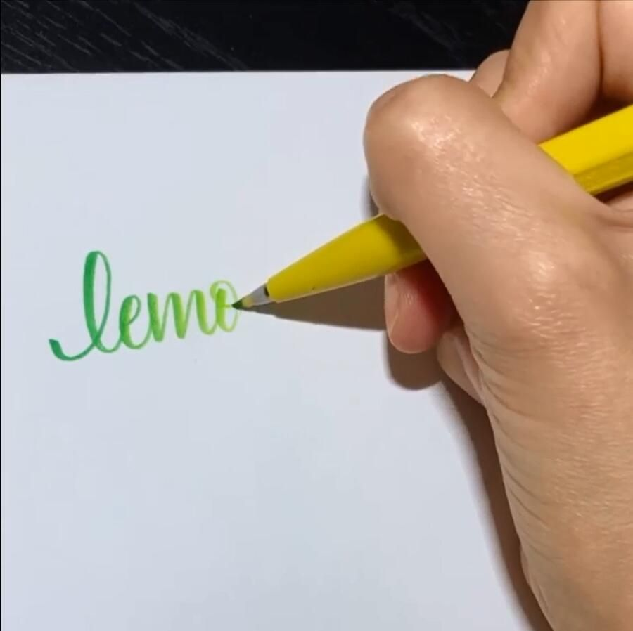 """Photo of Handwriting Styles👉www.paperhouse.me💝Get 10% OFF with code """"PIN10""""💝Brush Pen Art."""