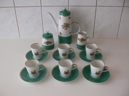Compleet Porselein Servies.Oud Duits Koffie Servies Compleet Porselein Barok Serviezen En