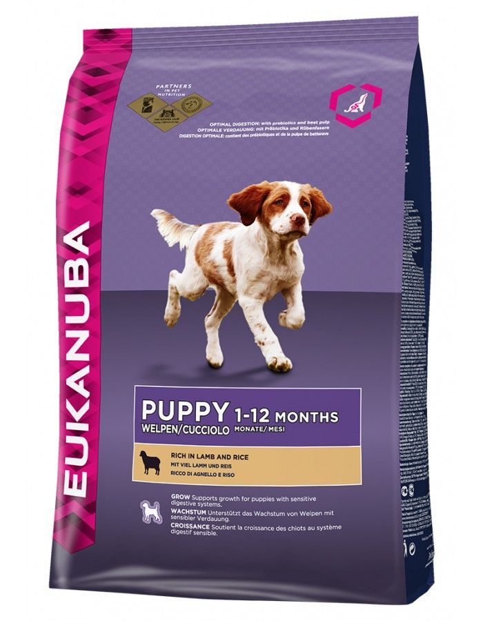 Eukanuba Puppy Lamb Rice 12 Kg Allergies