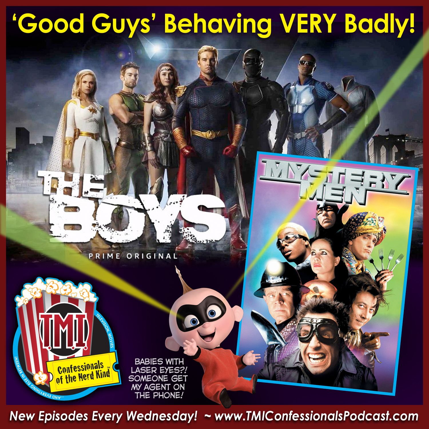 TMI Confessionals Of The Nerd Kind Podcast Movie Review