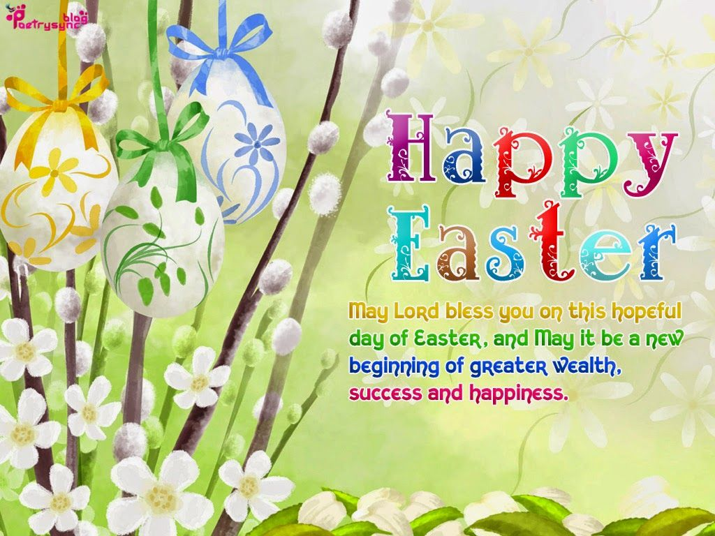 Easter ecards easter messages easter wishes cards easter day poetry happy easter greeting ecard pictures with wishes sms messages kristyandbryce Images