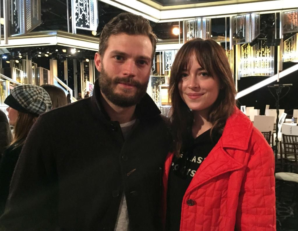 Photo of Jamie and Dakota at Golden Globes rehearsals today now in HQ: http://www.jamie-dornan.org/gallery/displayimage.php?album=657&pid=15668#top_display_media …