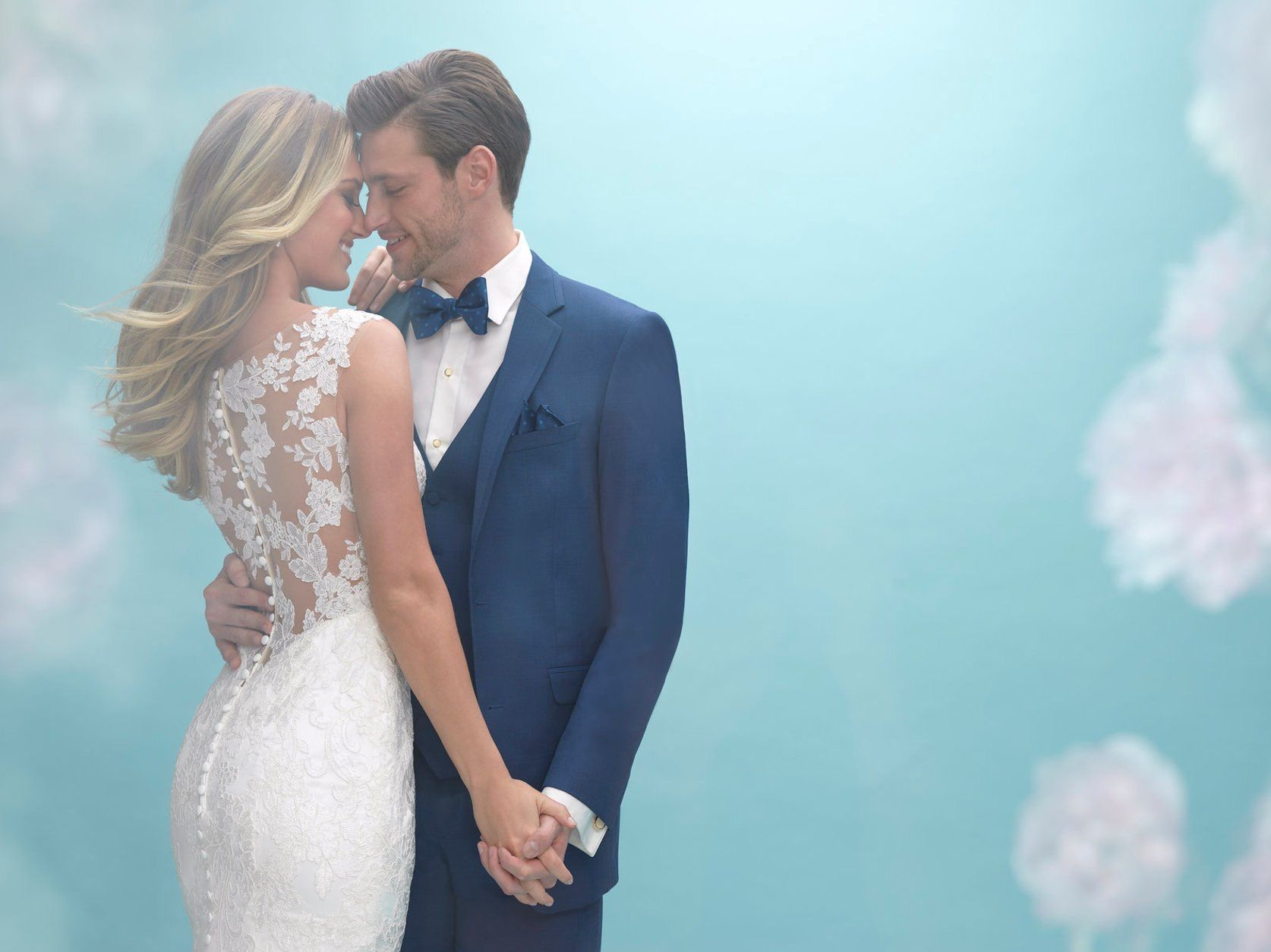 A love to last a lifetime. The Allure Bridal 9422H will be etched in ...