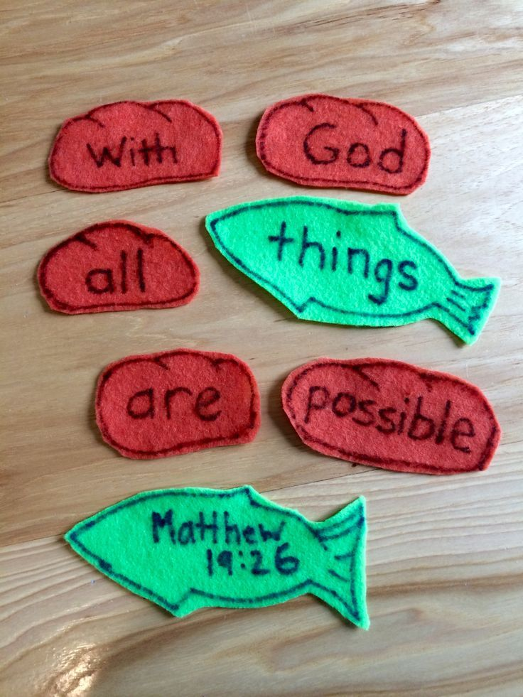 Image Result For Five Loaves And Two Fishes Preschool Craft