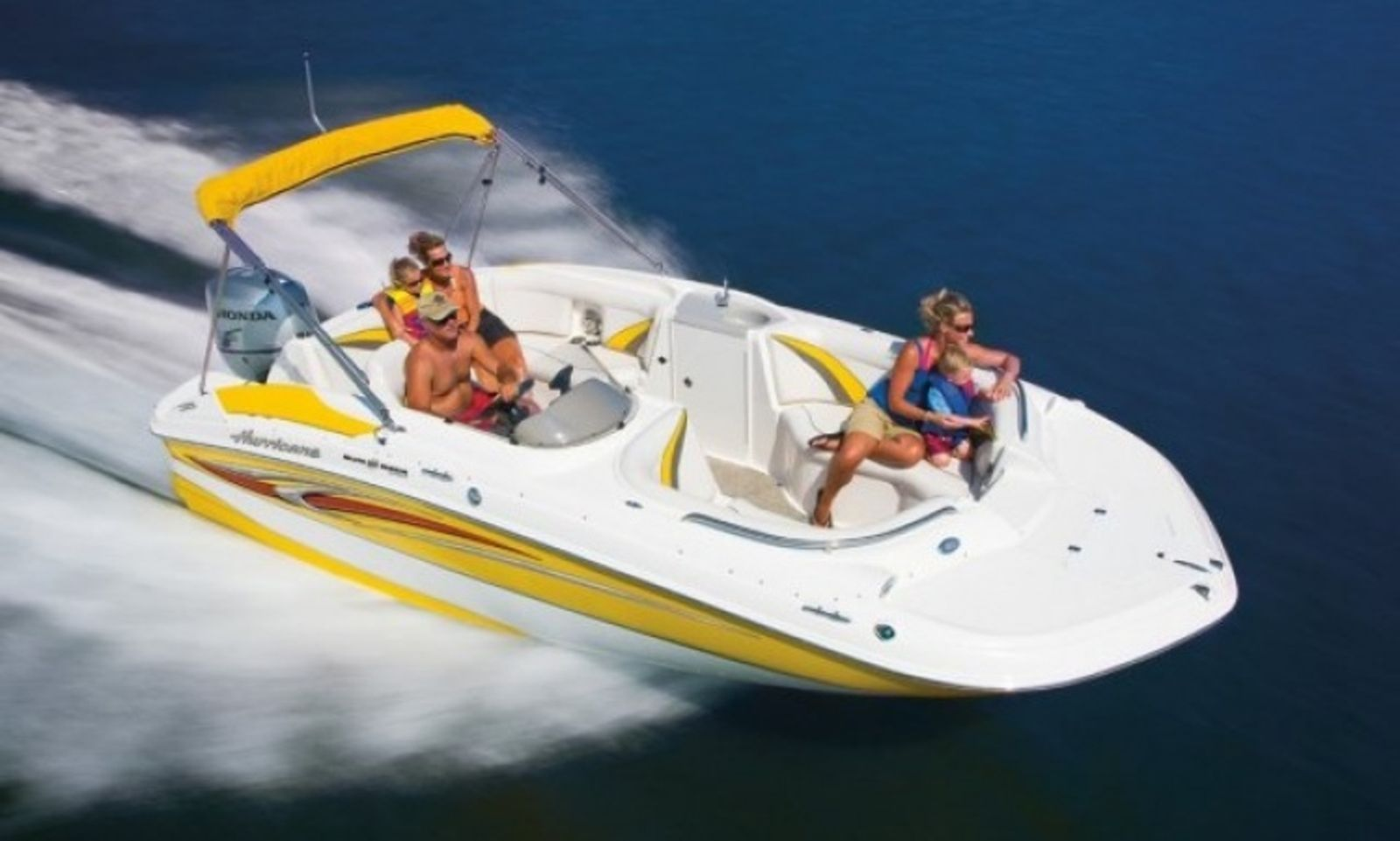 Hurricane 20 deck boat rental in san diego in san diego