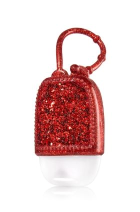 Red Glitter Pocketbac Holder Bath Body Works Make Your