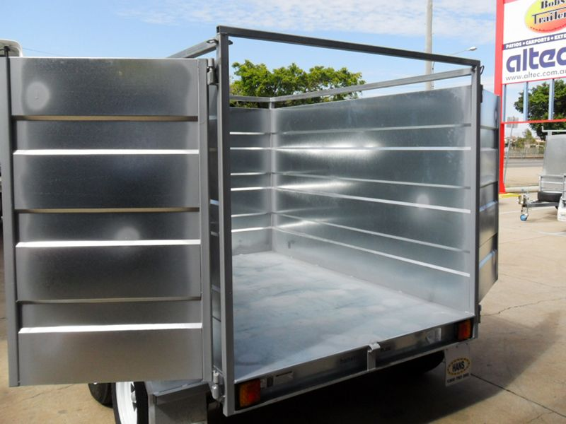 Refuse Tipper Trailer Custom Made By Hans With Images Trailers For Sale Custom Trailers Trailer