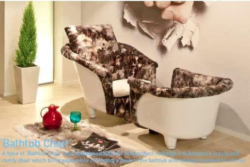 Upholstered Soaker Seating