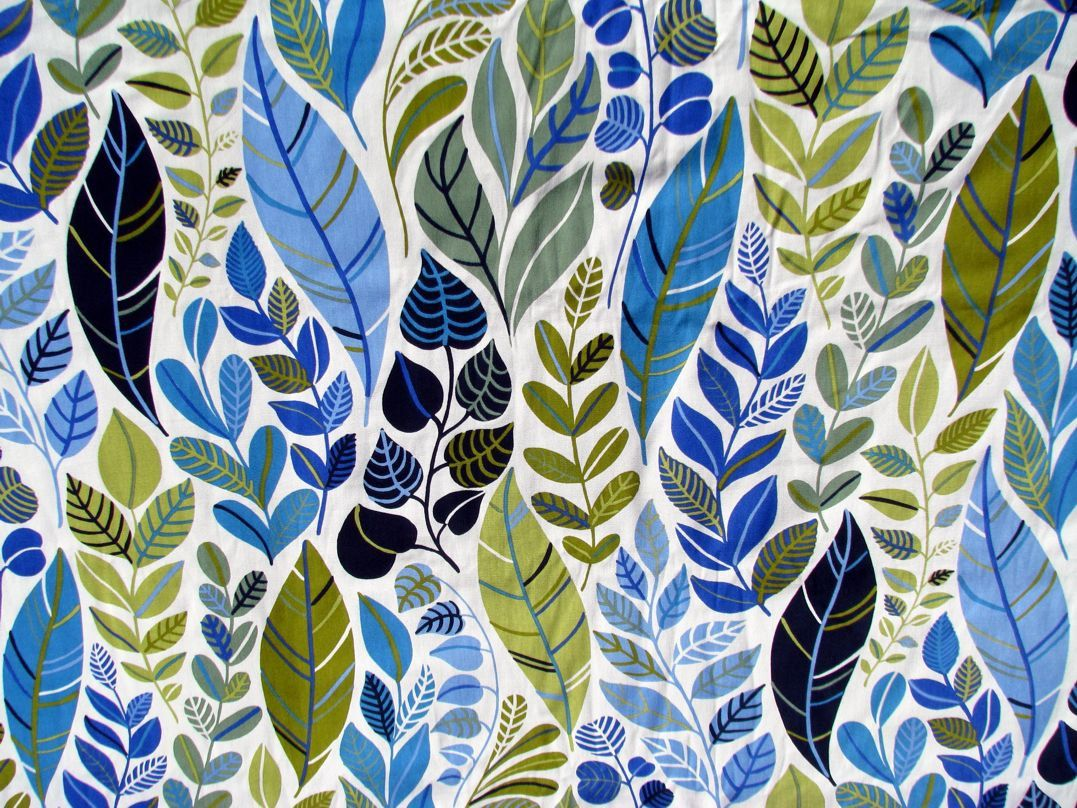 Cotton fabric by the yard scandinavian design for Fabric printing