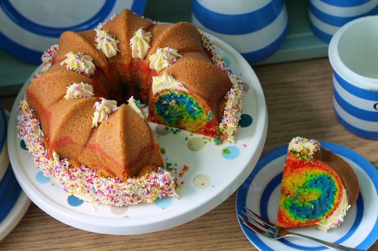 Rezept Papageienkuchen Gugelhupf Idee Kinder Backen Einfach Anfanger
