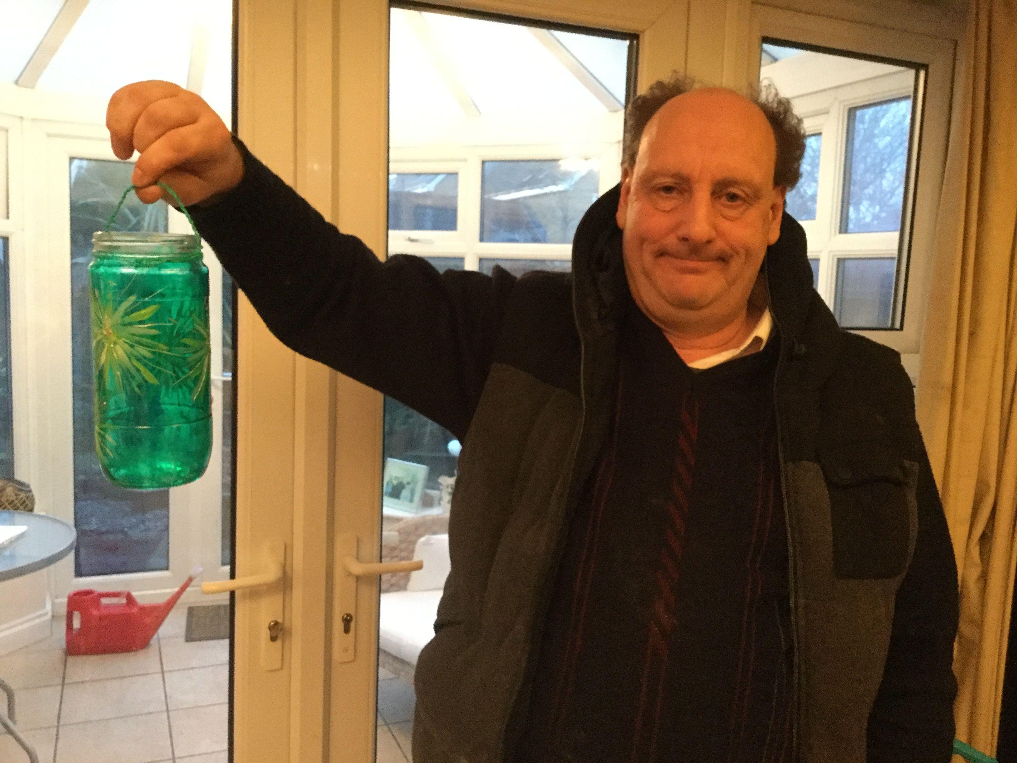 Brian's green jar