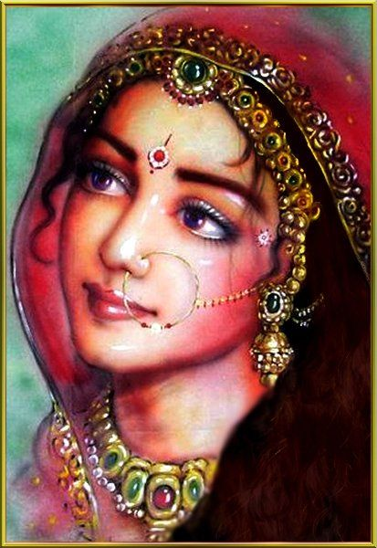 "Image result for radha krishan portrait"" nari"