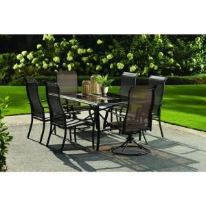 Anselmo 7 Piece Steel Patio Dining Set Was 599 Discontinued