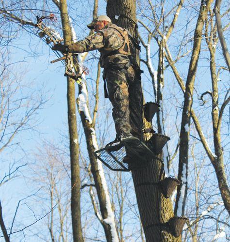 Redhead Tree Stand Shooting Rail