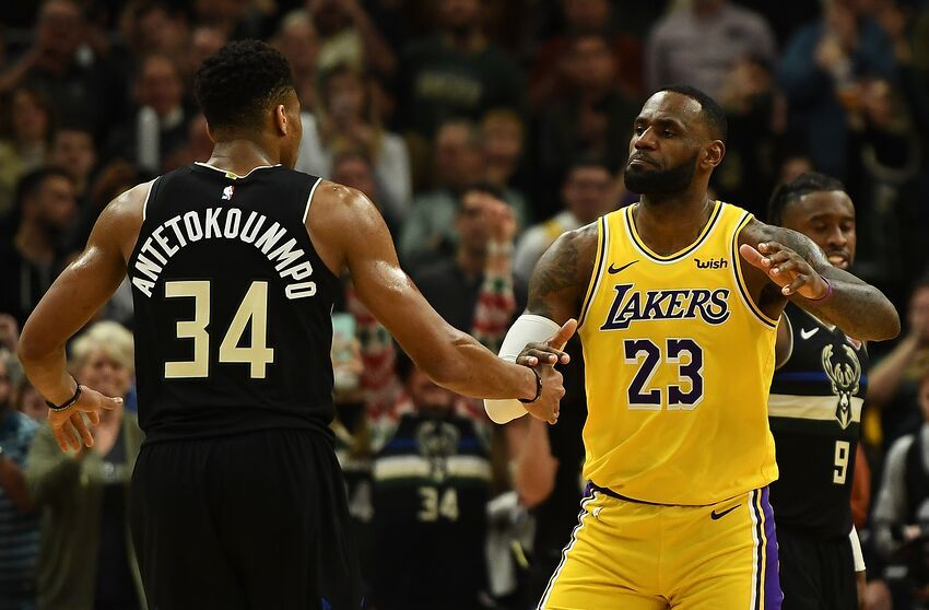 Lebron James Giannis Antetokounmpo Select All Star Team Rosters In 2020 Nba Mvp All Star Team Lebron James