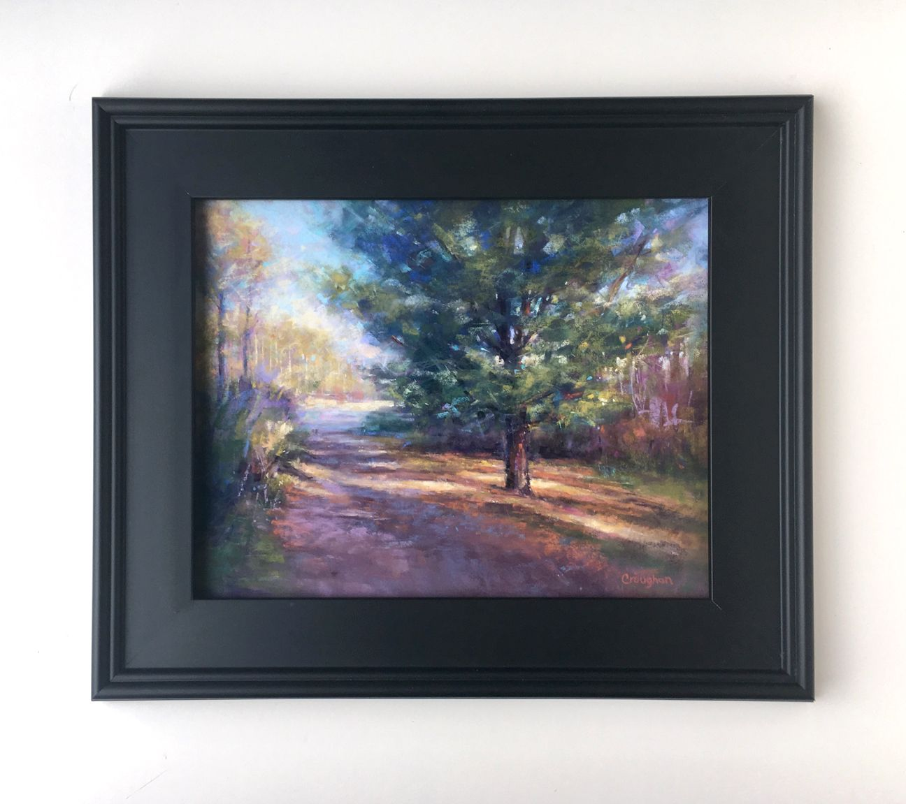 'Mid Summer Walks' framed. Grace Croughan in 2020 Pastel