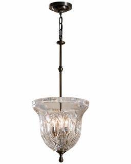 135 429 27 00 Waterford Lighting Blue Bell Pendant Waterford Crystal Crystal Pendant Lighting Crystal Lamp