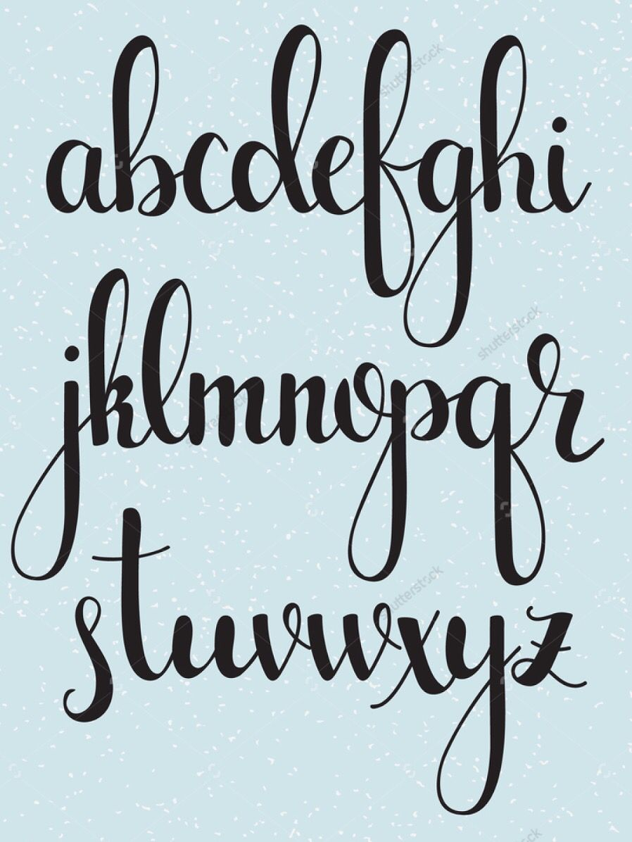 Find Buy Hand Lettering Alphabet Photos Illustrations Or Vectors From The High Quality Stock Image Collections On Shutterstock