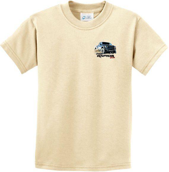 e70443292 F-150 Raptor Pocket Print Kids Ford Tee T-Shirt 22001D2-PP-PC61Y ...