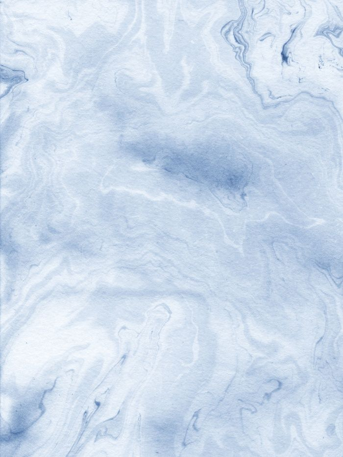 Blue And White Marble : Yasuko spilled ink japanese monoprint marble paper cell