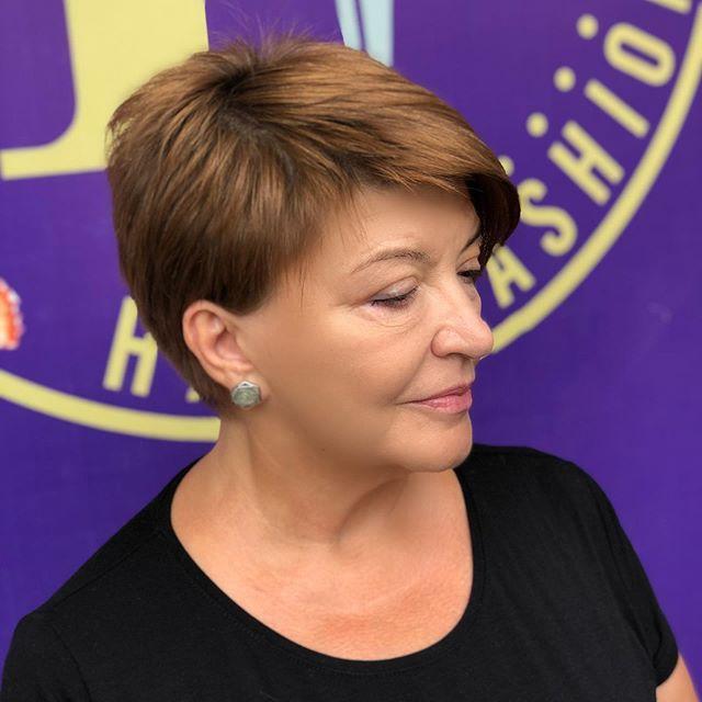 36 Beste Kurzhaarfrisuren Frauen Ab 50 in 2020..