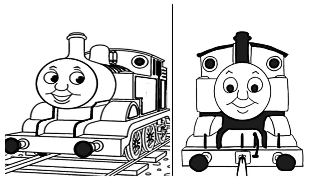 Thomas And Friends Very Interesting Thomas Coloring Page | Thomas ...