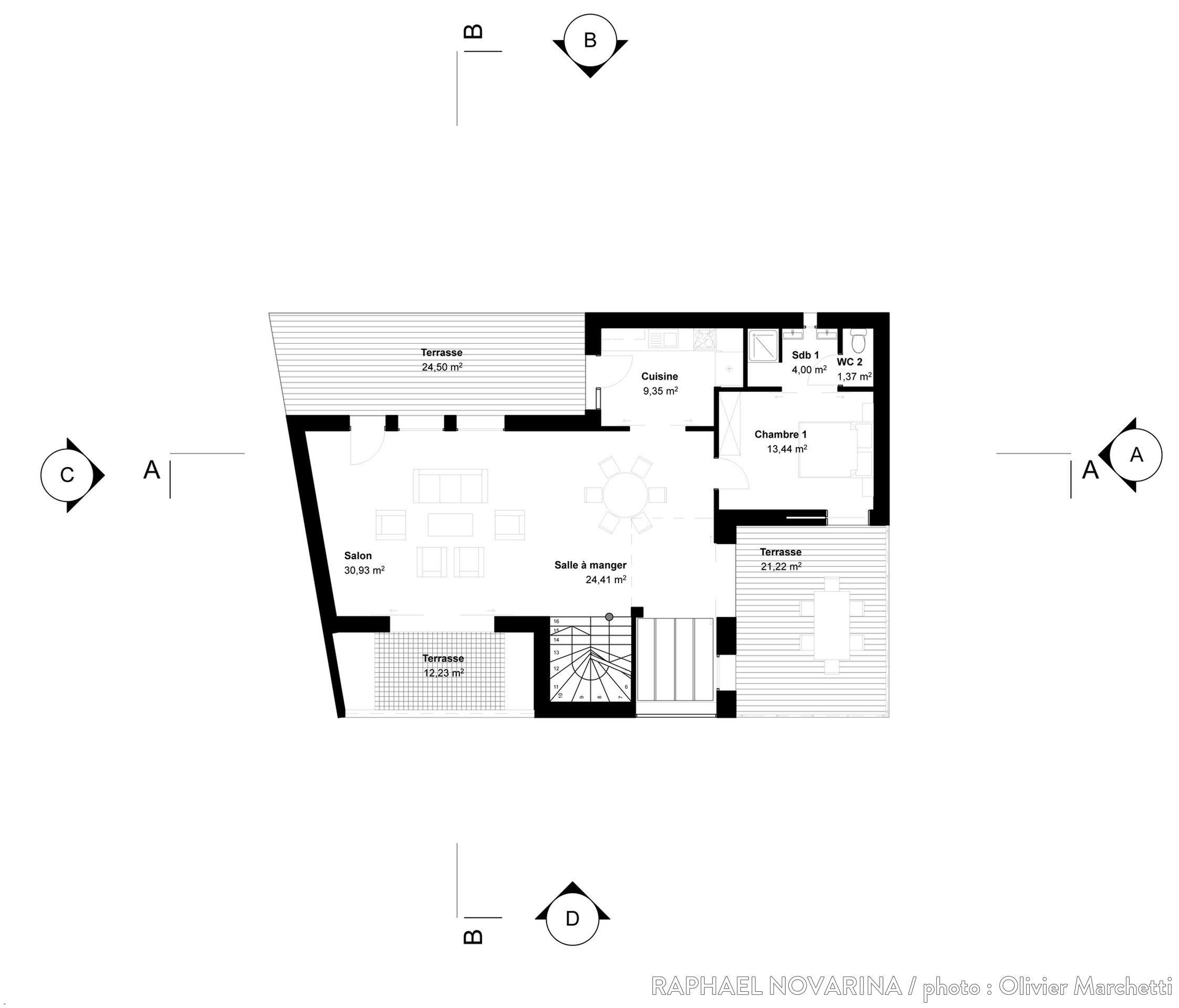 Plan dune maison de 250m2