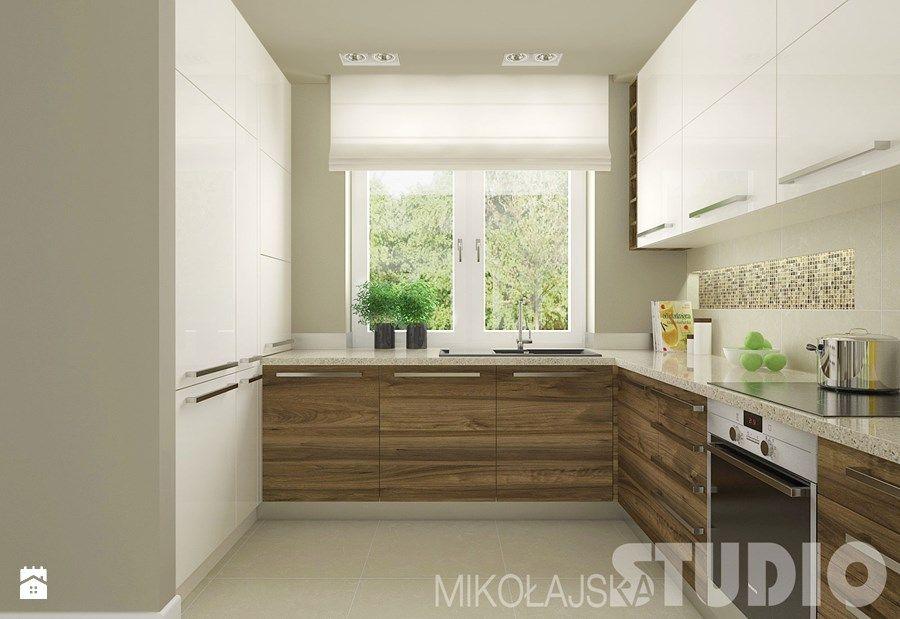 Znalezione obrazy dla zapytania mała kuchnia nowoczesna z oknem  dom  Pinterest  Kitchen ...
