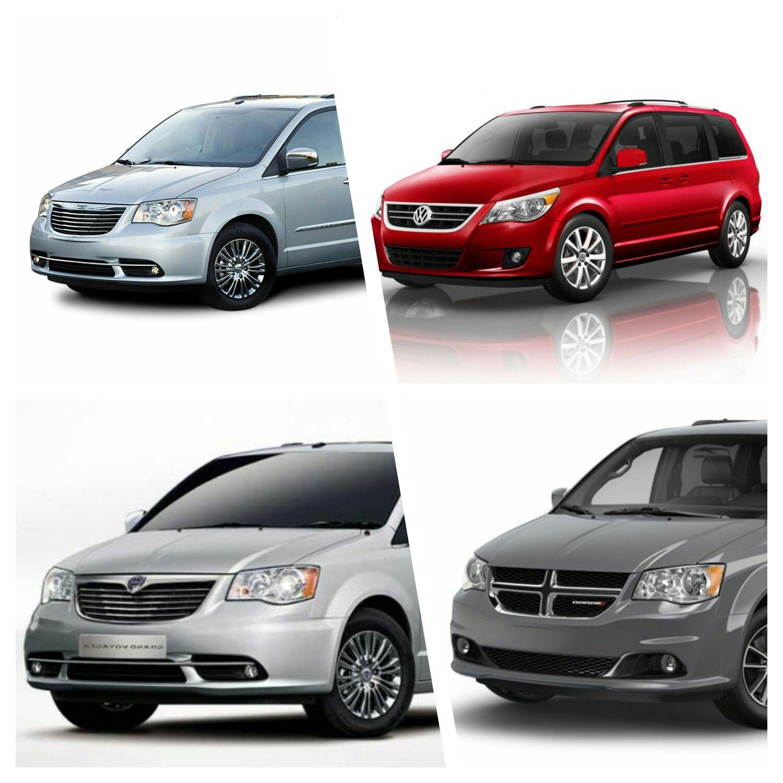 Chrysler Town & Country (top Left), Volkswagen Routan (top