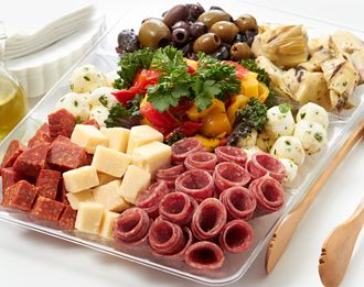 Freshdirect antipasti platter food pinterest Ina garten appetizer platter