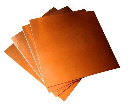 "Copper Sheets 5 mil/ 36 gauge 6"" X 6"" (8 copper sheets) Craft Copper/ Tooling Copper/ Copper Foil"