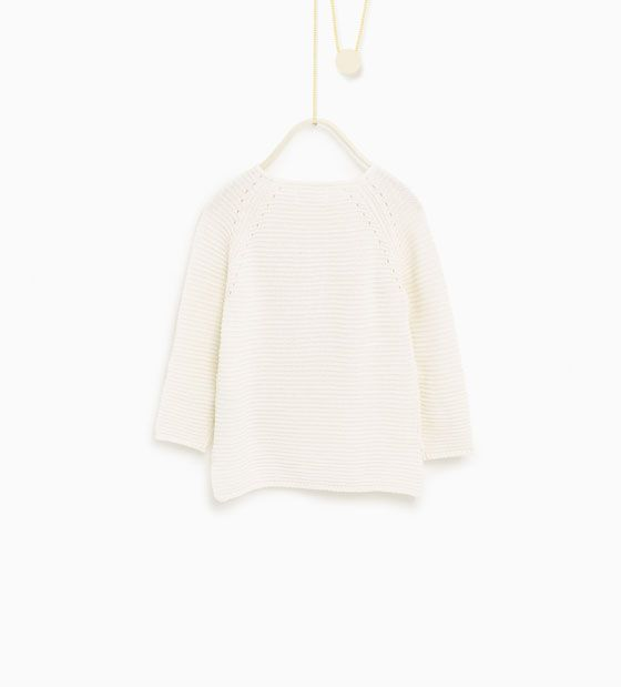 ZARA - KIDS - Appliqué sweater