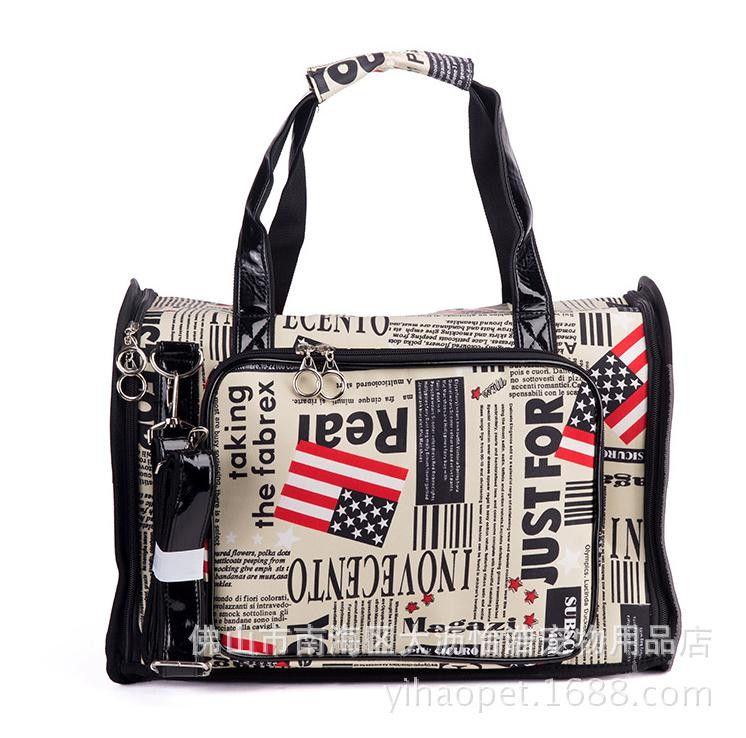 Portable travel dog carrier bag Classical USA flag Breathable dog bags for small dogs brand high-quality luxury dog carriers  #Happy4Sales #kids #shoulderbags #bag #backpack #L09582 #highschool #handbags #bagshop #YLEY
