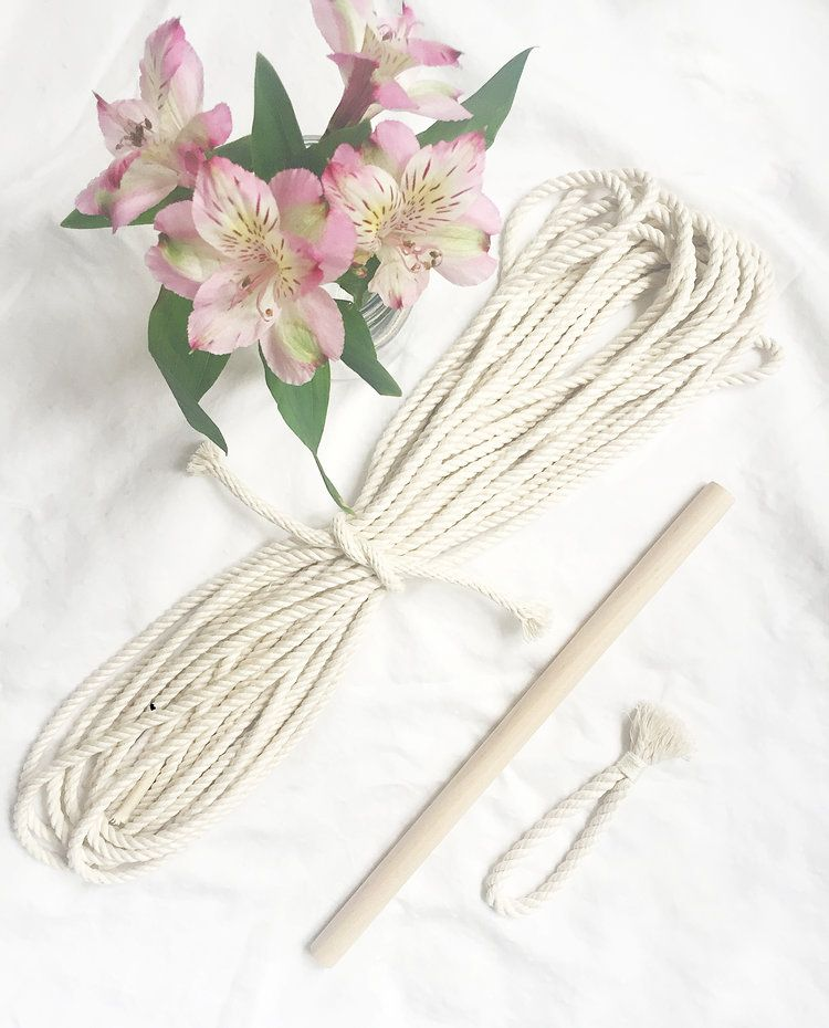 Diy macrame wall hanging kit by chicago artist amy zwikel